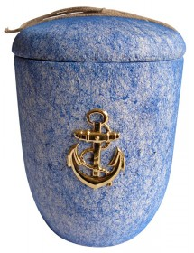 Urne immersible avec décor ancre de marine
